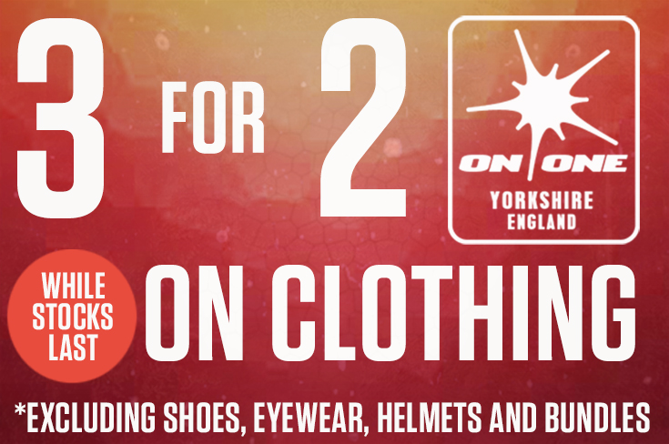3 for 2 on clothing