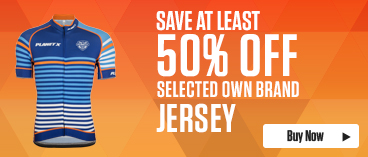 Save at least 50% off selected Own Brand Jerseys
