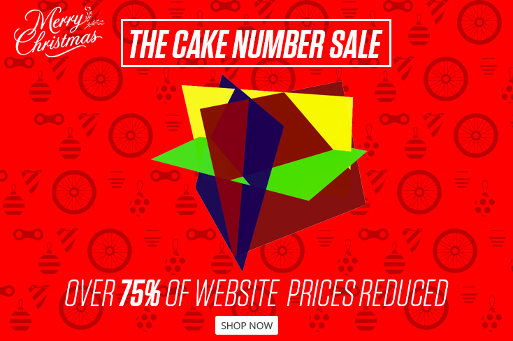 The Cake Number Sale is now on!