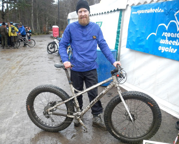 Shaggy with Fatty at Strathpuffer