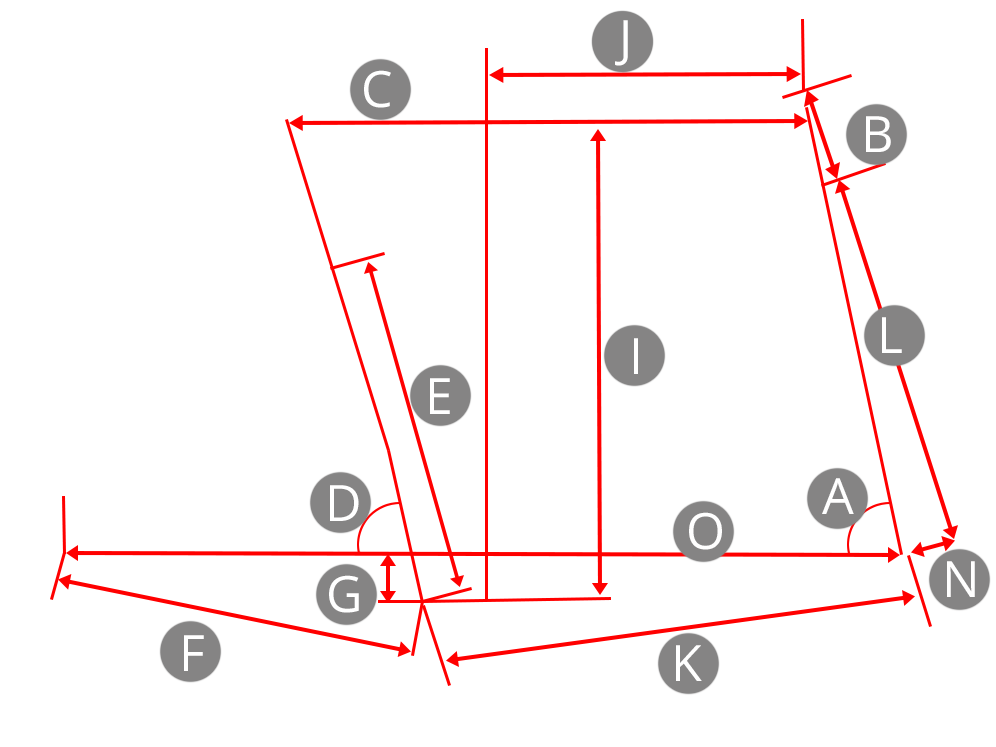 Bike frame geometry