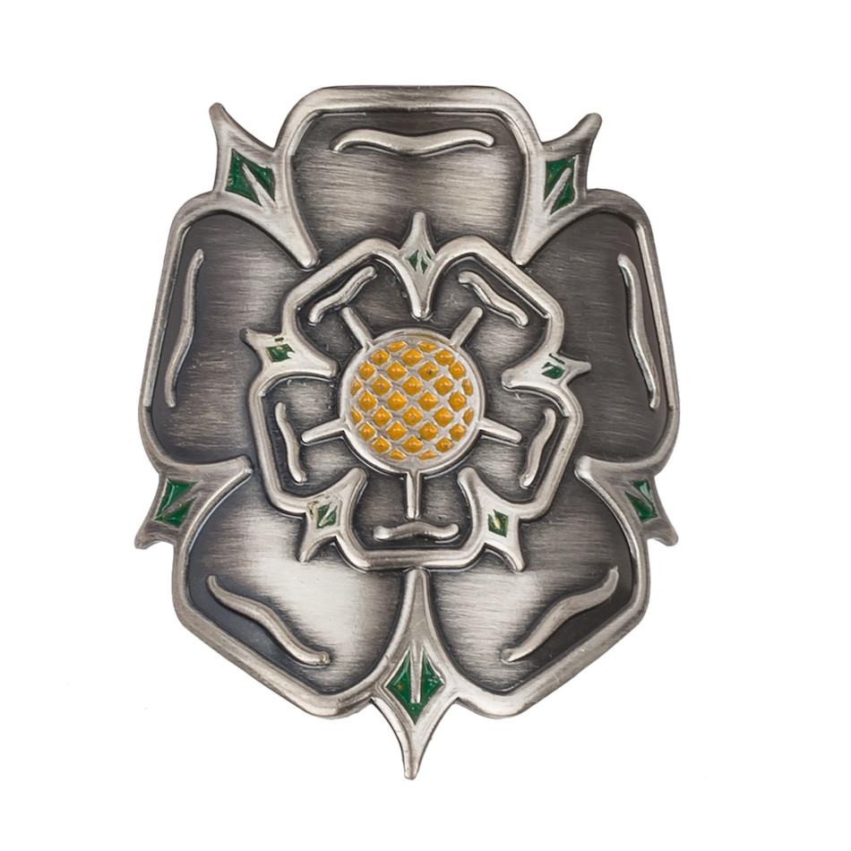 On One Headtube Badge Yorkshire Rose For Steel Frame On
